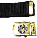 GOLD  MG WEBBELT BUCKLE / BELT OPTION