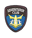 "2"" New Adv CLUB Beret, Bear Shirt or smaller sleeve patch"