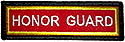 PF Sleeve Custom Title Strip   -  HONOR GUARD