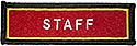 PF Sleeve Custom Title Strip  - STAFF