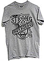 BE STRONG & COURAGEOUS  - ON MANY SHIRT COLORS