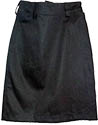 "Junior""s PF Twill  Skirt - Black"