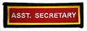 PF Sleeve Semi- Custom Title Strip - Assistant Secretary