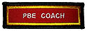 PF Sleeve Custom Title Strip - PBE COACH