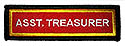 PF Sleeve Semi-Custom Title Strip - Assistant Treasurer