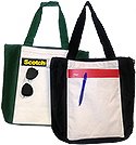 Full Front Pocket Tote (CLOSEOUT) - WITH PRINTED LOGO OPTIONS