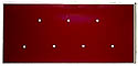 ADV- 7 Hole Pin Display Plate- 3/4- BLANK