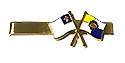 CHRISTIAN / PF FLAG  TIE CLIP