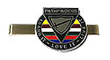 Learn it live it love it - PF Tie Clip