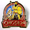 Chosen 19 METALED PIN 1.25""