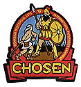CHOSEN 19 MICRO STITCHED PATCHES - 2 SIZES