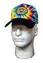 Multi Tye Dye Cap - PF WORLD Logo