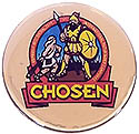 CHOSEN 19 PUFFY STICK ON STICKER