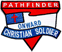 ONWARD CHRISTIAN SOLDIER PF PATCH - 3""