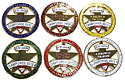"Southwest Union 2012 Camporee 6pc 2"" Pin Set"