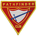 """IAD PF Sash or Guidon Patch  3¼"""" iron and sew on"""