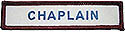 ADV Custom Title Strip -ip--Chaplin -iron or sew on