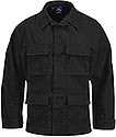 UNISEX BDU SHIRT - BLACK OR FL CONF NAVY