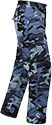 UNISEX TACTICAL BDU PANTS - BLUE CAMO