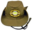 Master Guide 6 Star Black -O.M.A.M. Safari Hat-Black