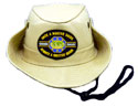 Master Guide 6 Star O.M.A.M - BLK. Safari Hat-Khaki