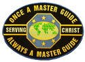 Blue Edge-Once a Master Guide Always a Master Guide Speciality Patch- 3 ½""