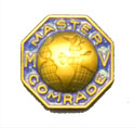 Replica of 1st Master Comrade Missionary Volunteer Pin