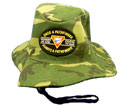 Safari hat -BLACK O.P.A.P. -  Gr Camo