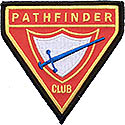 Pathfinder Club Triangle Patch