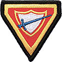 "2"" - Pathfinder Triangle Beret Patch"