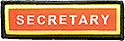 PF Sleeve Custom Title Strip  - Secretary
