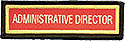 PF Sleeve Custom Title Strip - Administrative Director