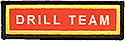 PF Sleeve Custom Title Strip - Drill Team