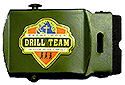 Black Drill Team Web Belt Buckle