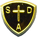 Black Baptismal Pathfinder Club Uniform Pin