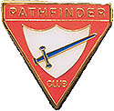 "PATHFINDER CLUB PIN - ½"" $2 OR ¾"" $3"