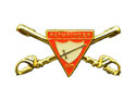 Pathfinder Crossed Sword Specialty Pin