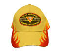 "Flame Khaki cap - ""Once A PathfinderAlways a Pathfinder""-red"