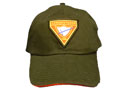 Cap - Black/red edge - Conqistador triangle