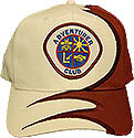 Swirl cap  - with 3  hat colors and 3 ADV Club logo choices