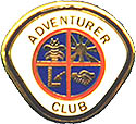 OLD ADVENTURER CLUB PIN
