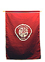ADV 1 color wall Banner - Maroon-White