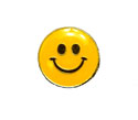 2nd Grade Beaming Happy Face Pin