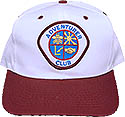 Cap Wh/Mar Bill- Adv Club