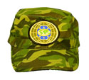 Flat top cap - Green Camo - MG-6 world