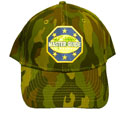 Cap green camo - MG-6 Word