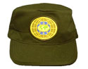 Flat top Cap - Olive Green - MG-6 World