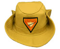 Safari Khaki Hat -  PF Club  Logo
