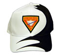 Baseball Cap - White/Black Swirl - PF Club