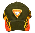 Cap flames - Pf Club- 4 HAT COLOR OPTIONS